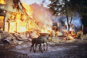 《地下社會》戰火的轟炸