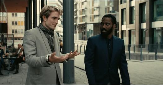 《天能》尼爾和主角討論計劃