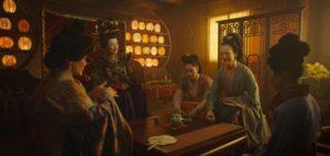 《花木蘭》花木蘭跟姥姥學習禮教