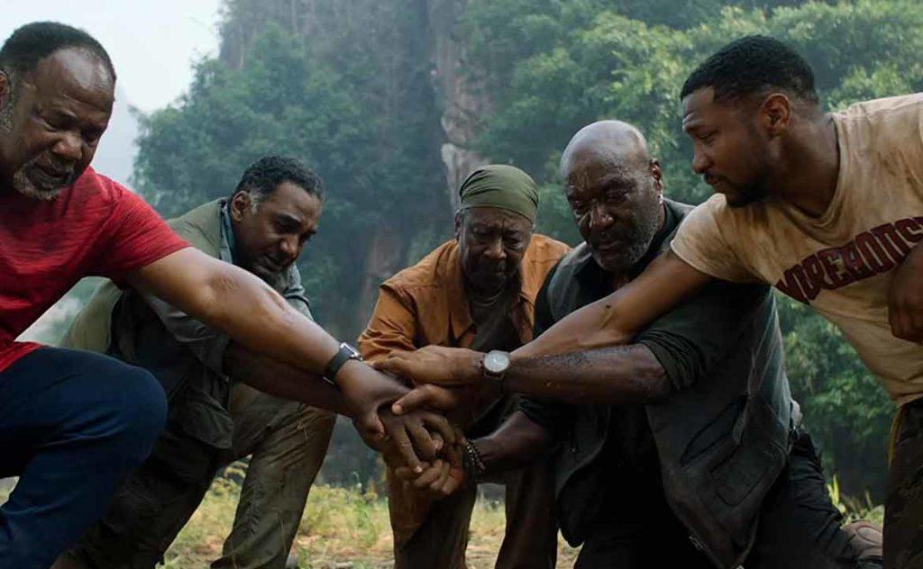 第93屆奧斯卡最佳原創配樂入圍電影:《誓血五人組》